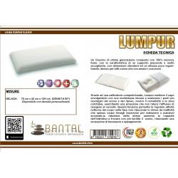Cuscino memory saponetta h12 modello Lumpur